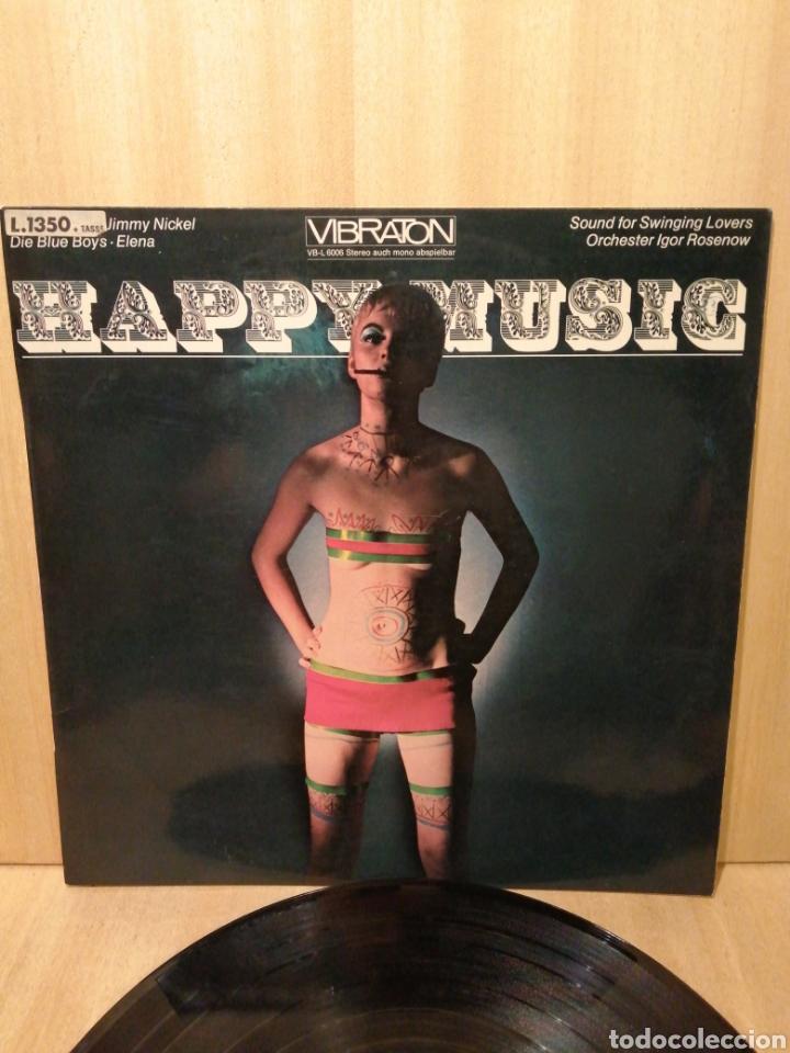 HAPPY MUSIC. IGOR ROSENOV. COLECCIONISTAS PORTADAS YE YE. PSICODELIC. DECORADORES. (Música - Discos - LP Vinilo - Grupos Españoles 50 y 60)