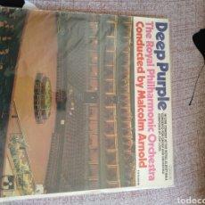 """Discos de vinilo: DEEP PURPLE """" THE ROYAL PHILHARMONIC ORCHESTRA"""". PRIMERA EDICIÓN ESPAÑOLA.. Lote 217083308"""