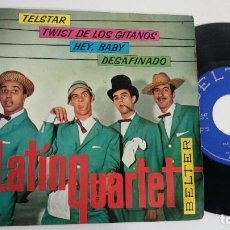 Dischi in vinile: EP-LATIN QUARTET-TELSTAR-1963-SPAIN.-. Lote 217088028