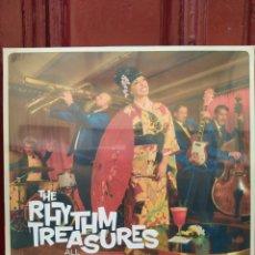 Discos de vinilo: THE RHYTHM TREASURES–ALL AROUND THE WORLD . LP VINILO NUEVO PRECINTADO.. Lote 217093498