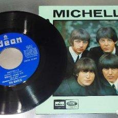 Discos de vinilo: THE BEATLES --- MICHELLE & RUN FOR YOUR LIFE + 2 MINT ( M ). Lote 217093895
