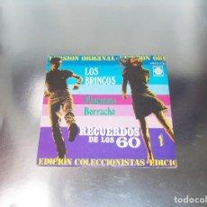 Discos de vinilo: LOS BRINCOS -- FLAMENCO & BORRACHO --RECUERDOS DE LOS 60 Nº 1 --MINT ( M ). Lote 217096670