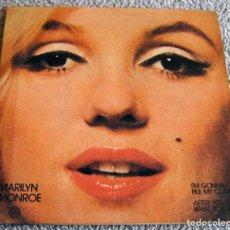Discos de vinilo: MARILYN MONROE - SINGLE - I'M GONNA FILE MY CLAM - AÑO 1982 - BUEN ESTADO. Lote 217101632