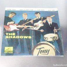 Discos de vinilo: THE SHADOWS -- GUITAR TANGO & WHAT A LOVELY TUNE +2 VG+. Lote 217101915