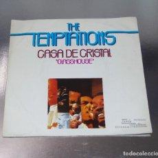 Discos de vinilo: THE TEMPTATIONS --- CASA DE CRISTAL & EL PROFETA -- NEAR MINT ( NM OR M ). Lote 217102665