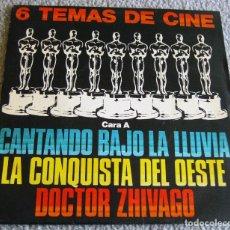 Discos de vinilo: LAS ESTRELLAS - 6 TEMAS DE CINE - EP - DOCTOR ZHIVAGO + 5 - AÑO 1980 - BUEN ESTADO. Lote 217103863