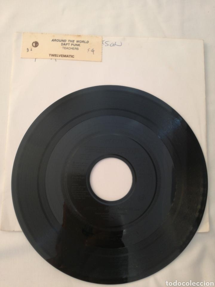DAFT PUNK-AROUND THE WORLD, 1997,RARO!! (Música - Discos - Singles Vinilo - Electrónica, Avantgarde y Experimental)