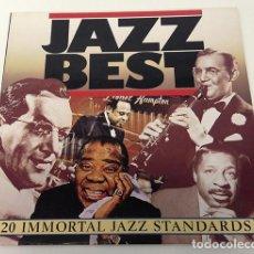 Discos de vinilo: LP, JAZZ BEST - 20 INMORTAL JAZZ STANDARDS, 1983. (VG+_VG+). Lote 217107173