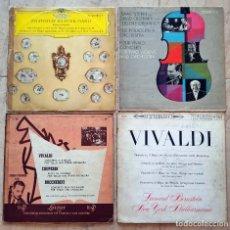 Discos de vinilo: LOTE 46 VINILOS CLÁSICA AÑOS 50/60- VIVALDI, BACH, SCHUBERT, SIBELIUS HAYDN,ETC. Lote 217120282
