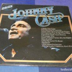 Discos de vinilo: BOXX66 LP RECOP 70S JOHNNY CASH UK EN EMBASSY, CIERTAS SEÑALES DE USO, AUN TOLERABLE. Lote 217131693