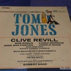 Discos de vinilo: BOXX66 LP USA MUY ANTIGUO Y GRUESO: THE MUSICAL VERSION OF TOM JONES FEAT CLIVE REVILL 1970?. Lote 217134690