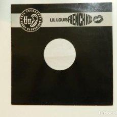 Discos de vinilo: VINILO MAXI. LIL LOUIS - FRENCH KISS. 45 RPM.. Lote 217137297