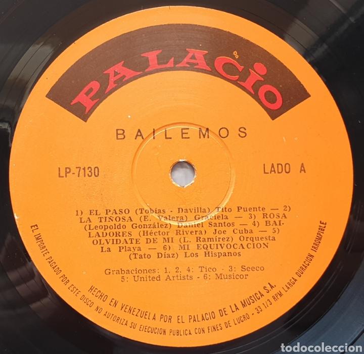 Discos de vinilo: LP BAILEMOS CON GERONIMO MENDEZ ROJAS Y SUS INVITADOS (Venezuela - Palacio - 1966) TOP COPY NEAR MIN - Foto 4 - 217141472