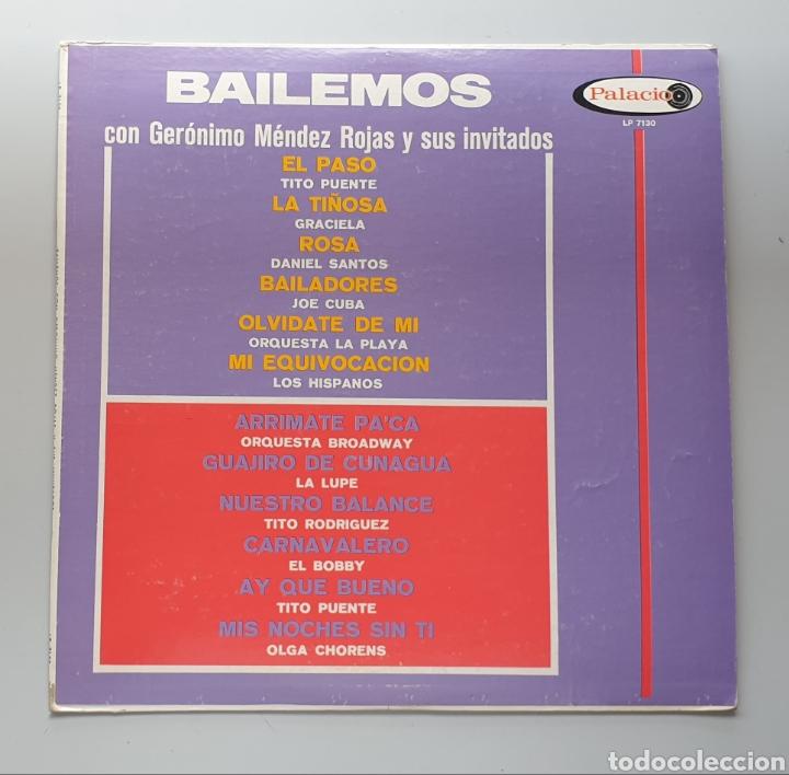 LP BAILEMOS CON GERONIMO MENDEZ ROJAS Y SUS INVITADOS (VENEZUELA - PALACIO - 1966) TOP COPY NEAR MIN (Música - Discos - LP Vinilo - Grupos y Solistas de latinoamérica)