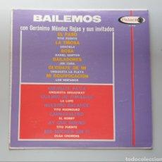 Discos de vinilo: LP BAILEMOS CON GERONIMO MENDEZ ROJAS Y SUS INVITADOS (VENEZUELA - PALACIO - 1966) TOP COPY NEAR MIN. Lote 217141472
