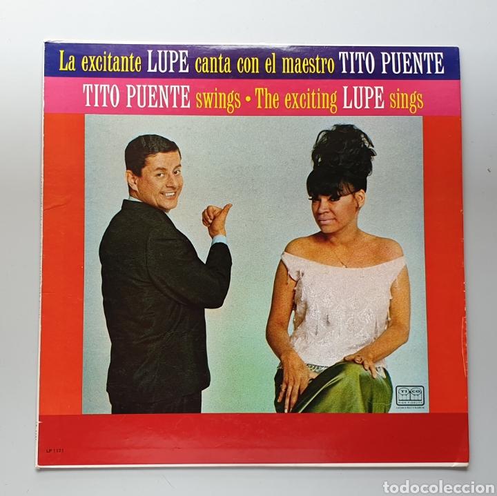 LP LA LUPE & TITO PUENTE - LA LUPE TITO PUENTE SINGS (VENEZUELA - PALACIO - 1965) TOP COPY NEAR MINT (Música - Discos - LP Vinilo - Grupos y Solistas de latinoamérica)