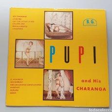 Discos de vinilo: LP PUPI & HIS CHARANGA - VOL.2 (VENEZUELA - B.G. RECORDS/VENEVOX - 1962) TOP COPY NEAR MINT. Lote 217142855