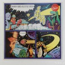 Discos de vinilo: VINILO MAXI. SNAP! - MARY HAD A LITTLE BOY. 45 RPM. EDICIÓN ALEMANA.. Lote 217143402