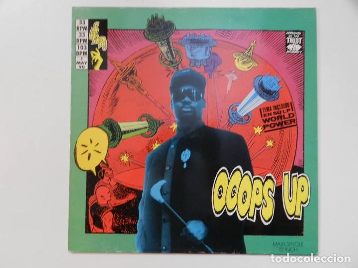 VINILO MAXI. SNAP! - OOOPS UP. 45 RPM. (Música - Discos de Vinilo - Maxi Singles - Rap / Hip Hop)