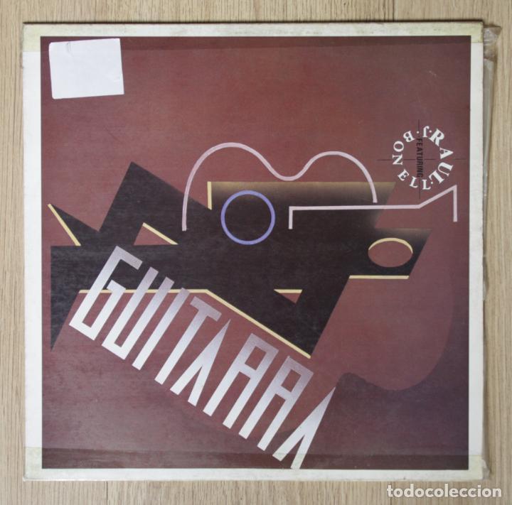 RAUL FEATURING J.BONELL - 'GUITARRA' (MAXI SINGLE VINILO. ORIGINAL 1988) (Música - Discos - LP Vinilo - Disco y Dance)
