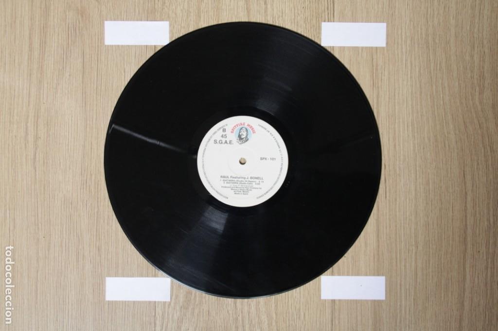 Discos de vinilo: Raul Featuring J.Bonell - Guitarra (Maxi Single Vinilo. Original 1988) - Foto 2 - 217144071