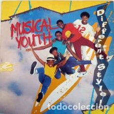 Discos de vinilo: MUSICAL YOUTH – DIFFERENT STYLE. Lote 217144546