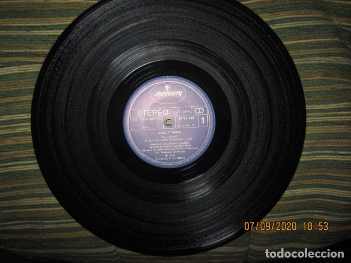 Discos de vinilo: AZUL Y NEGRO - LA NOCHE - MAXI 45 R.P.M. ORIGINAL ESPAÑOL - MERCURY RECORDS 1982 - MUY NUEVO (5). - Foto 3 - 217147487