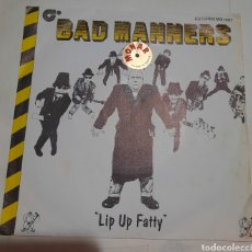 Discos de vinilo: BAD MANNERS - LIP UP FATTY. Lote 217153918