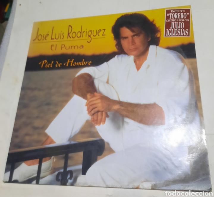 """JOSE LUIS RODRÍGUEZ """"EL PUMA"""" - PIEL DE HOMBRE (Música - Discos - LP Vinilo - Grupos y Solistas de latinoamérica)"""