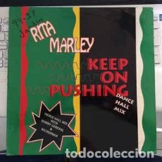 Discos de vinilo: RITA MARLEY - KEEP ON PUSHING. Lote 217156103