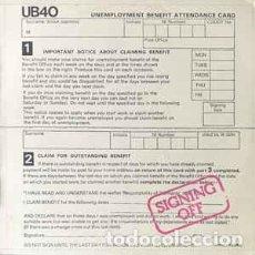 Discos de vinilo: UB40 - SIGNING OFF. Lote 217157815