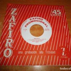 Discos de vinilo: MIKAELA TE LO JURO YO EP VINILO PROMO DEL AÑO 1964 ZAFIRO CONTIENE 4 TEMAS. Lote 217160468