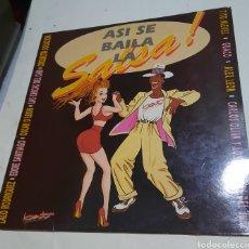 Discos de vinilo: ASÍ SE BAILA LA SALSA. RECOPILATORIO. Lote 217174015