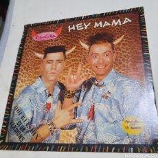 Discos de vinilo: RIGHEIRA / CARMELO - HEY MAMA / LA BIONDA. Lote 217176780