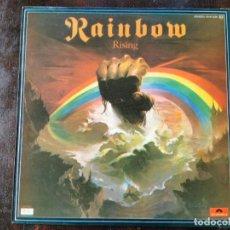 Discos de vinilo: LP RAINBOW, RISING - POLYDOR 1976. Lote 297103898