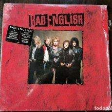 Disques de vinyle: LP BAD ENGLISH - EPIC 1989 CBS. Lote 217184355