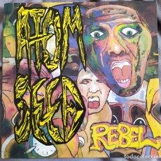 Discos de vinilo: ATOM SEED - REBEL EP 3 CANCIONES. 1991 EDICIÓN ALEMANA. Lote 217192362