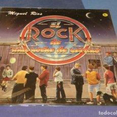Discos de vinilo: EXPRO LP MIGUEL RIOS EL ROCK DE UNA NOCHE DE VERANO VINILO MUY BIEN ENCARTE LOMO TOCADO. Lote 217195442