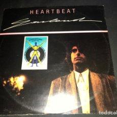 Discos de vinilo: GARLAND – HEARTBEAT 1986 ITALO-DISCO MUY RARO !. Lote 217199425