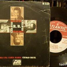 Discos de vinilo: R.B. GREAVES - TOMA UNA CARTA MARIA. Lote 217205552