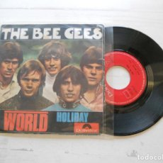 Discos de vinilo: THE BEE GEES* ?– WORLD / HOLIDAY SINGLE 1968 VG++/VG. Lote 217205927