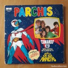 Discos de vinilo: LP PARCHIS. COMANDO G. CONTIENEL JUEGO COMBATE GALACTICO. Lote 217207927