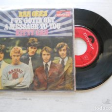 Discos de vinilo: BEE GEES ?– I'VE GOTTA GET A MESSAGE TO YOU SINGLE 1968 VG++/VG. Lote 217208467