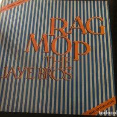 Discos de vinilo: THE JAYE BROS – RAG MOP ROCK & ROLL. Lote 217208628
