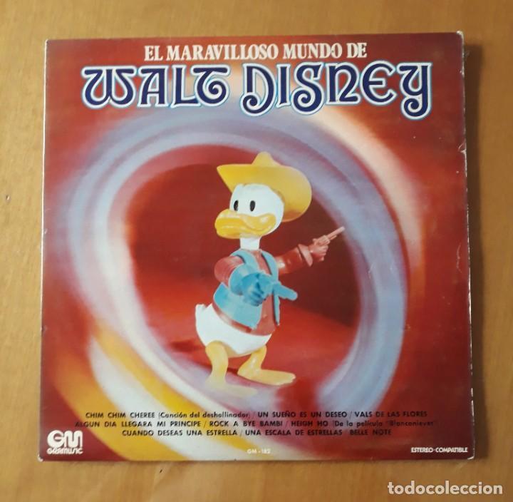 LP EL MARAVILLOSO MUNDO DE WALT DISNEY. GM 1973 (Música - Discos - LPs Vinilo - Música Infantil)