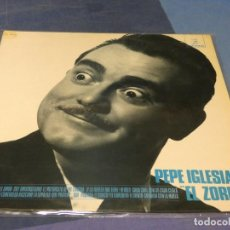 Discos de vinilo: EXPRO LP HUMORISTA ESPAÑOL PEPE IGLESIAS EL ZORRO MUY BUEN ESTADO 1974 DIFICIL. Lote 217213295