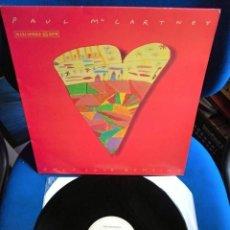 Discos de vinilo: BEATLES MCCARTNEY MAXI SINGLE ORIGINAL EMI ODEON ESPAÑA ONLY LOVE REMAINS NUEVO EXCELENTE. Lote 217216133