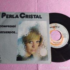 """Discos de vinilo: 7"""" PERLA CRISTAL – COMPRENDI / RECUERDOS - ACCION AC-10.035 - SINGLE - SPAIN (VG++/VG++). Lote 217222988"""
