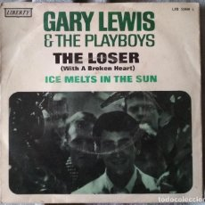 Discos de vinilo: GARY LEWIS AND THE PLAYBOYS - THE LOSER (WITH A BROKEN HEART). SINGLE 1967 EDICIÓN ESPAÑOLA. Lote 217225127