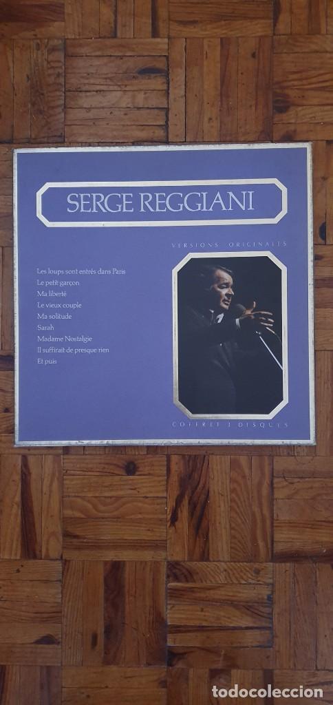 SERGE REGGIANI – SERGE REGGIANI SELLO: POLYGRAM DISTRIBUTION – 827 313-1 3LPS (Música - Discos - LP Vinilo - Canción Francesa e Italiana)